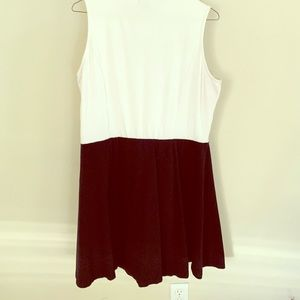 ASOS color block sleeveless dress